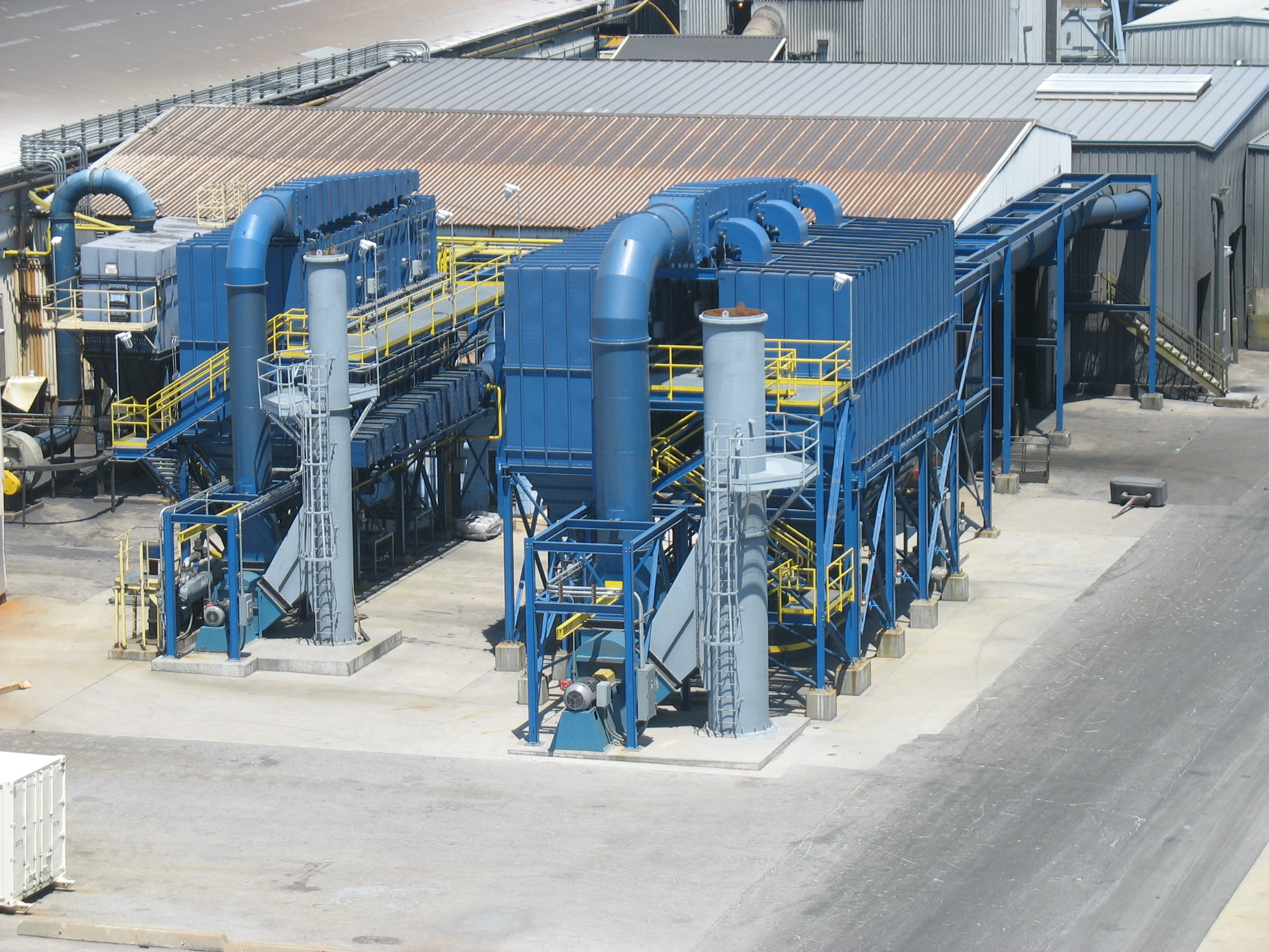 commercial, industrial plant equipment
